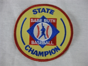 Picture of State Champion Award-Baseball: 3 3/8""
