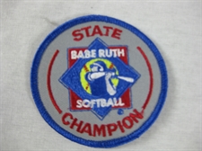 Picture of State Champion Award-Softball 3 3/8""
