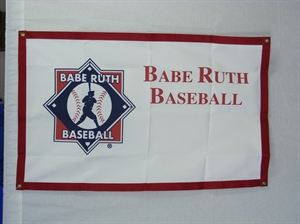 Picture of Baseball Banner-logo and imprint