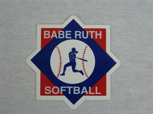 Picture of Babe Ruth Softball Emblem Decal