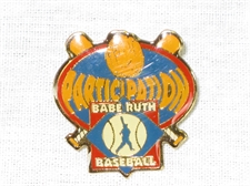 Picture of Babe Ruth Baseball Participation Pin