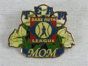 Picture of Babe Ruth League Team Mom Pin