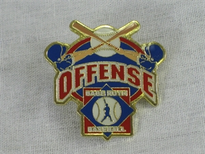 Picture of Babe Ruth Baseball Offense Pin