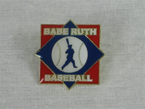 Picture of Babe Ruth Baseball Logo Pin