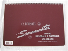 Picture of Babe Ruth Scoremaster Scorebook
