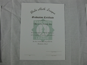 Picture of Graduation Certificate