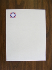 Picture of Babe Ruth Baseball Letterhead