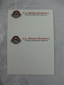 Picture of Cal Ripken Business Cards