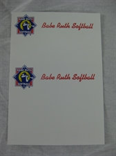 Picture of Babe Ruth Softball Business Cards