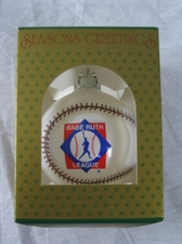 Picture of Babe Ruth League Christmas Ornament
