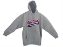 Picture of Babe Ruth Baseball Hooded Sweatshirt-Grey