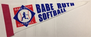 Picture of Babe Ruth Softball Small Pennant