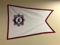 Picture of Babe Ruth Baseabll Flag-logo only