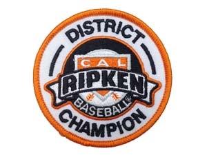 "Picture of District Champion Emblem-Cal Ripken: 3"""