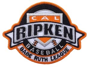 Picture of Official Cal Ripken Shoulder Emblem: 3""