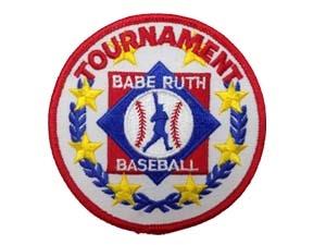 "Picture of Tournament Emblem Award-Baseball: 3 5/16"""