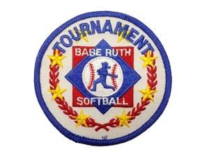 "Picture of Tournament Emblem Award-Softball: 3 5/16"""