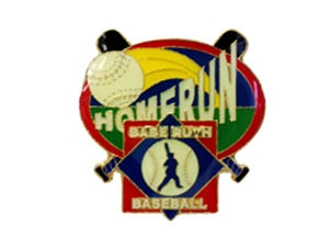 Picture of Babe Ruth Baseball Homerun Pin