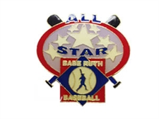Picture of Babe Ruth Baseball Allstar Pin