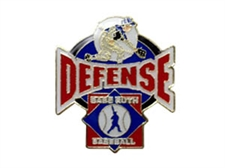 Picture of Babe Ruth Baseball Defense Pin