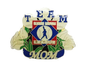 Picture of Babe Ruth Baseball Team Mom Pin