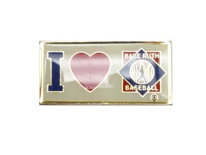 Picture of I Love Babe Ruth Baseball Pin Bar