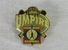 Picture of  Babe Ruth Baseball Umpire Pin
