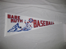 Picture of  Babe Ruth Baseball Large Pennant