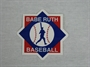 Picture of  Babe Ruth Baseball Press-on Emblem
