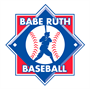Picture of Babe Ruth Baseball Logo Banner - 5'x5'