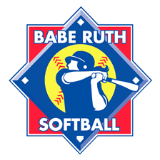 Picture of Babe Ruth Softball Logo Banner - 5'x5'