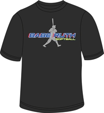 Picture of Babe Ruth Silhouette T-Shirt