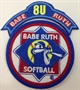 Picture of Official Softball Patch with Division Rocker