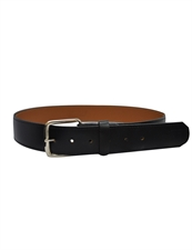 "Picture of Smitty Black 1 1/2"" Leather Belt"