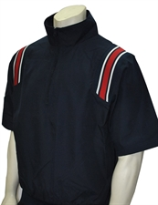 Picture of Smitty Half Sleeve Pullover Umpire Jacket with Half Zipper