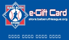 Picture of Babe Ruth League e-Gift Card