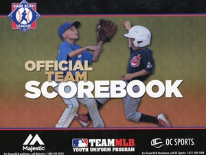 Picture of Babe Ruth League Scorebook