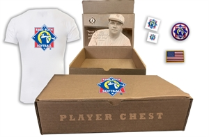 Picture of Player Chest Keepsake (Babe Ruth Softball)