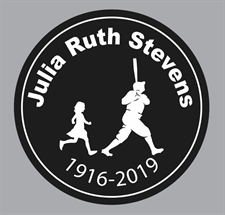 Picture of Julia Ruth Stevens Memorial Helmet Decal